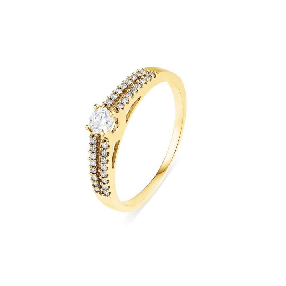 bague de fian 231 ailles diamants raffin 233 e et moderne en or jaune timsha monte carlo