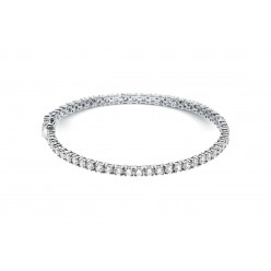 Bracelet rivière de diamants  en or blanc - Dacha