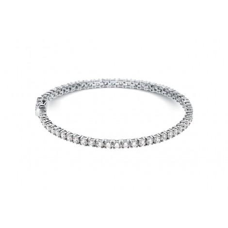Bracelet rivière de diamants  en or blanc - Dacha